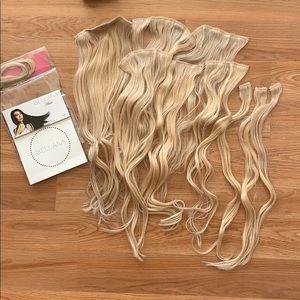✨Bellami Bambina Ash Blonde Hair Extensions (#60)